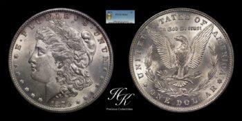 Morgan Dollar 1879 PCGS MS 64 USA