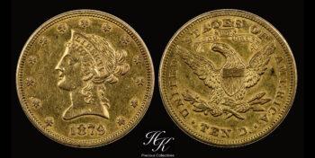 10 Dollars 1879 Liberty USA