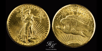 20 Dollars 1927 Saint Gaudens Double Eagle with Motto USA