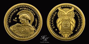 "100 Euro 2017 ""Athena"" Bank of Greece – Greece"