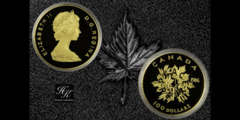 100 Dollars 1986 PROOF Canada