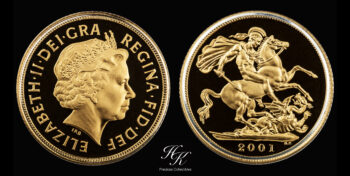 Sovereign 2001 Proof Great Britain