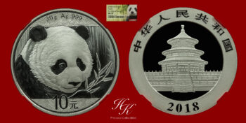 10 yuan 2018 Panda NGC MS70 RED SLAB FIRST DAY OF ISSUE China