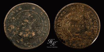 10 Lepta 1830 Variety 271 (Scarce)  Governor Kapodistrias  Greece