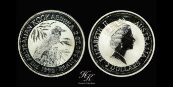 Kookaburra 2oz 1992 Australia
