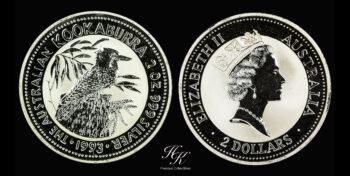 Kookaburra 2oz 1993 Australia