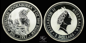 Kookaburra 2oz 1997 Australia