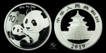 "10 yuan 2019 ""PANDA"" China"