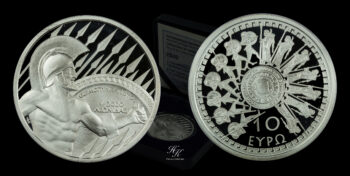 10 Euro 2020 silver proof coin Battle of Thermopylae – Greece