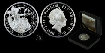 2 Pounds Silver Proof Britannia 2019 Great Britain