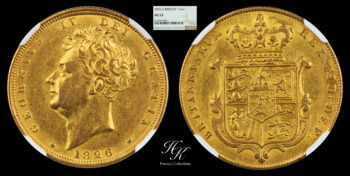 Sovereign 1826 George IV NGC AU53 Great Britain