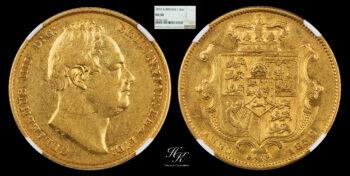 Sovereign 1832 William IV NGC AU50 Great Britain
