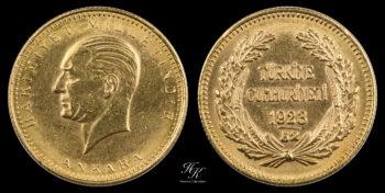 "100 Kurus 1923 / 52 ""Kemal Ataturk"" Turkey"
