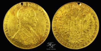 """4 Ducat 1855 A  """"Franz Joseph I """" Austria"""