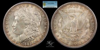 Morgan Dollar 1885 O PCGS MS64 USA