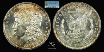 Morgan Dollar 1886 PCGS MS64 USA