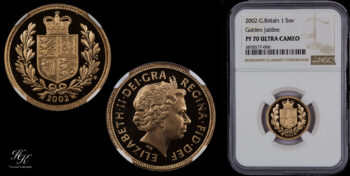 Sovereign 2002 NGC PF70 ULTRA CAMEO Great Britain
