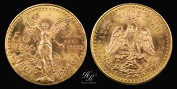 50 pesos gold coin 1946 Centenario (BU)  Mexico