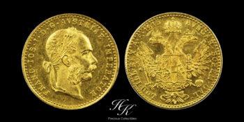 "Gold Ducat 1915 ""Franz Joseph I"" Austria"